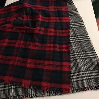 ZARA double sided scarf/shawl