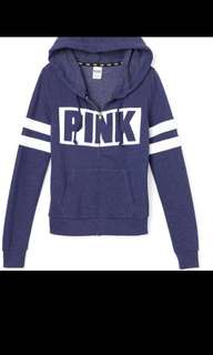 VS PINK blue sweater