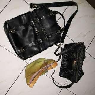 Lot of 3 Bags - Dooney and Bourke Mango Sony Vaio