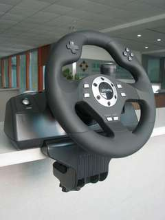PS3 PS2 Steering Wheel