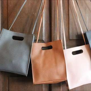 Paper Bag Inspired Sling