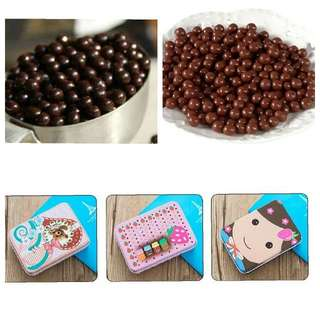 巧克力米花豆