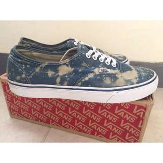 Vans Authentic Navy With acid Custom Original