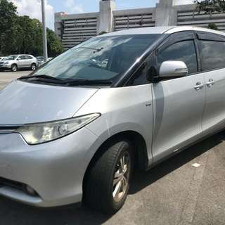 Toyota Estima ACR50 2.4L 4-SpeedAutomatic      -(SG)-  Year 2008