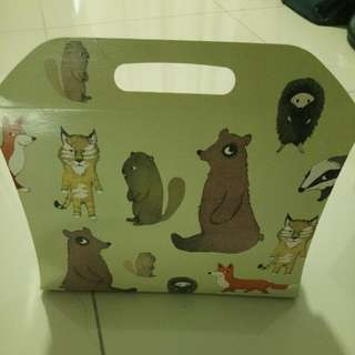 Cute animal box