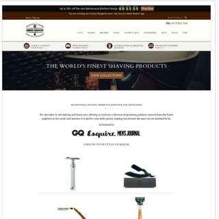 Website e-commerce plug and play website business