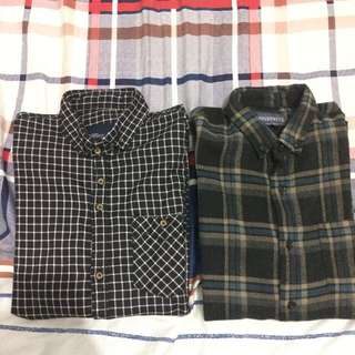 eighty shirt + flannel all item free ong