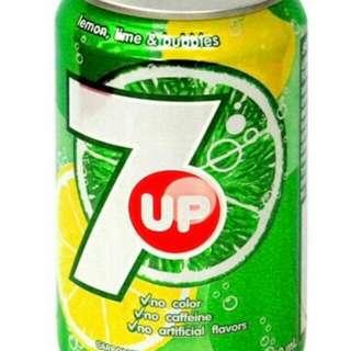 $3 7-up 七喜汽水