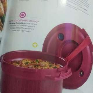 microwave presure cooker  from tupperware ne