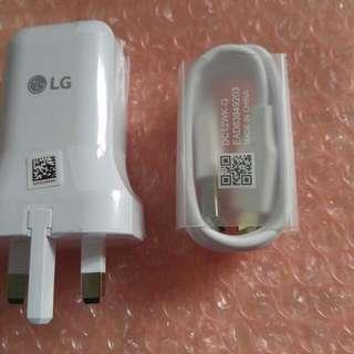 LG V20 Charger 充電 +USB 賣機後剩餘物資 V10 V30 G6 G5 合用