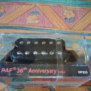 Brand new Dimarzio PAF 36th Anniversary Bridge Pickup.