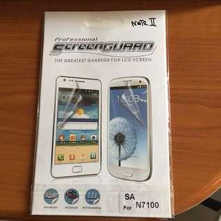 Samsung Note 2 Screen Guard