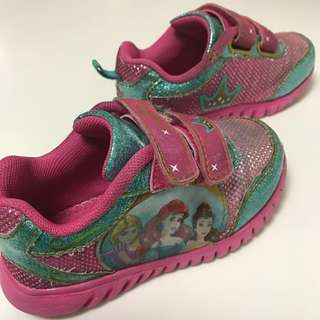 Pink Princess Shoes 2.5yr