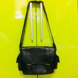 Sling Bag (leather) consider as NEW... used Once!