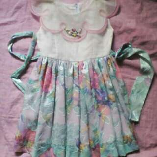 Formal Kids Floral Dress