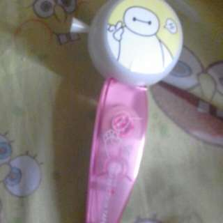 Baymax Fan and Correction Pen