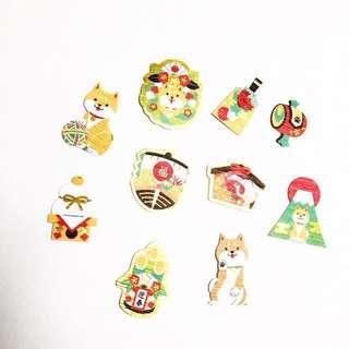 Japanese Themed Sticker Pack