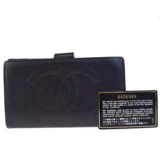 Authentic chanel wallet vintage 銀包