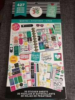 Happy Planner Sticker-Quotes