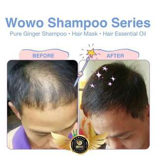 Wowo Pure Ginger Shampoo/ Hair Care