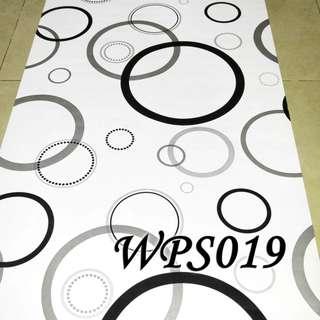 WPS019-BLACK SILVER CIRCLE