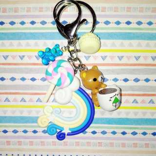 Customised / Handmade Rilakkuma Keychain / Bag Charm