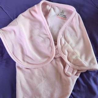 Swaddle Me baby pink swaddle