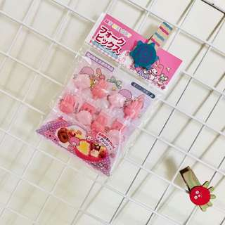 My Melody food picks fruits bento lunch party accessories