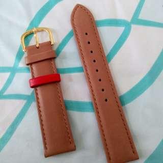 20Mm靚厚皮錶帶