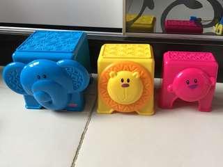 Fisher-price 叠叠玩具