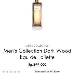 parfum oriflame dark wood 75 ml