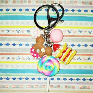 Customised / Handmade Pink Minnie Keychain / Bag Charm