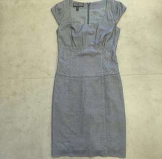 Grey work dress