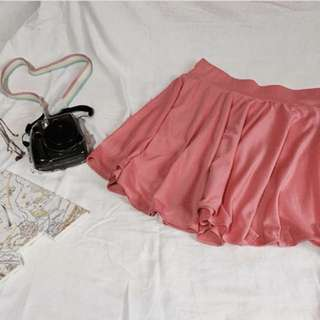 Code: C025 Style/color: skirt/ pastel pink