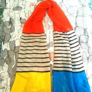 Multicolored Shawl
