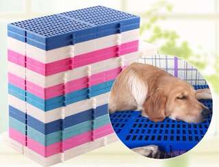 High quality Pet Dog Cat Rabbit cage kennel board platform pelapik sangkar kucing