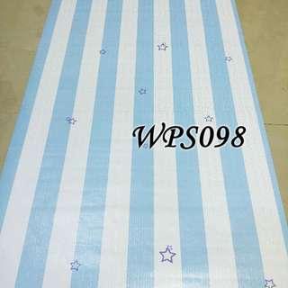 WPS098-BLUE LINE N STAR