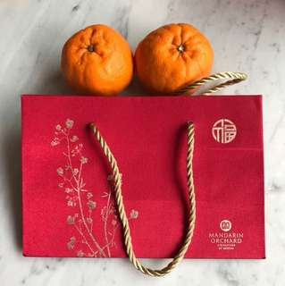 Mandarin Orchard CNY Bag