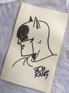 Bob kane Batman original art
