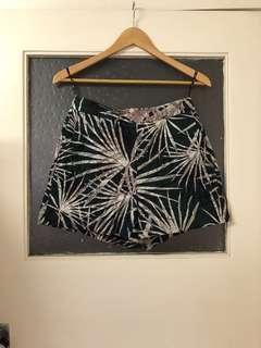 SABA palm tree print shorts