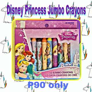 💐Disney Princess Jumbo Crayons