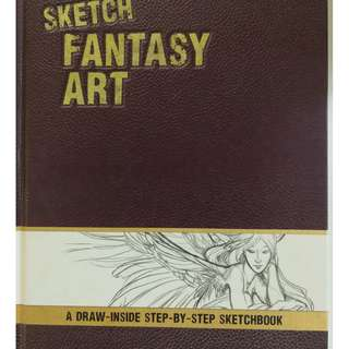 how to sketch and draw fantasy art character