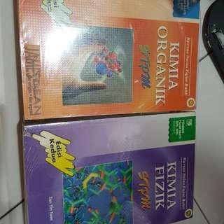 3Chemistry books