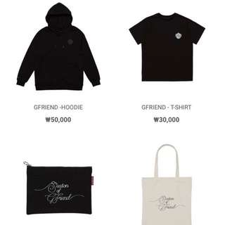 Gfriend Official Concert Goods
