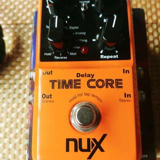 For sale NUX Time core