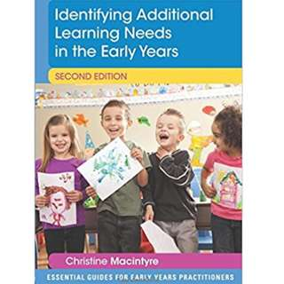 Identifying Additional Learning Needs in the Early Years (Essential Guides for Early Years Practitioners) 2nd Edition