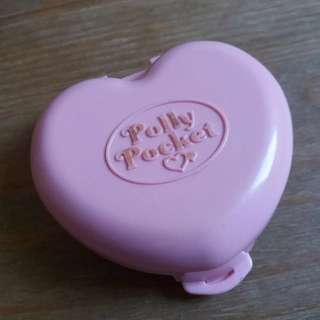 1989 Polly pocket with doll (for reservation)