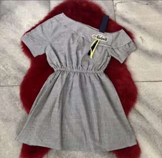 Dress hongkong all size lucu