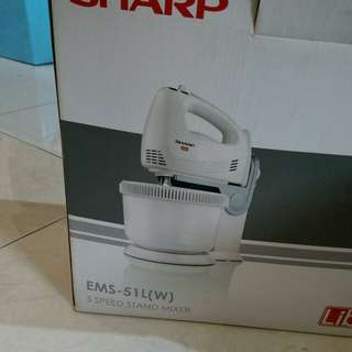 Preloved mixer sharp ems51L