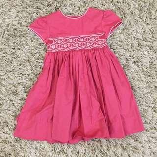 Moda Infantil Smock Dress